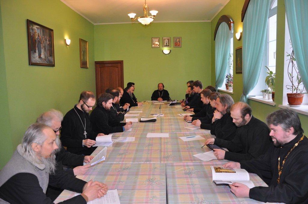 Собрание духовенства Долгопрудненского церковного округа