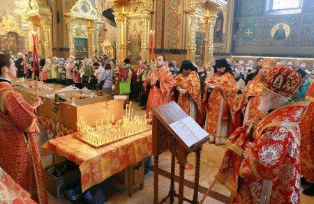 Радоница в Николо-Угрешском монастыре