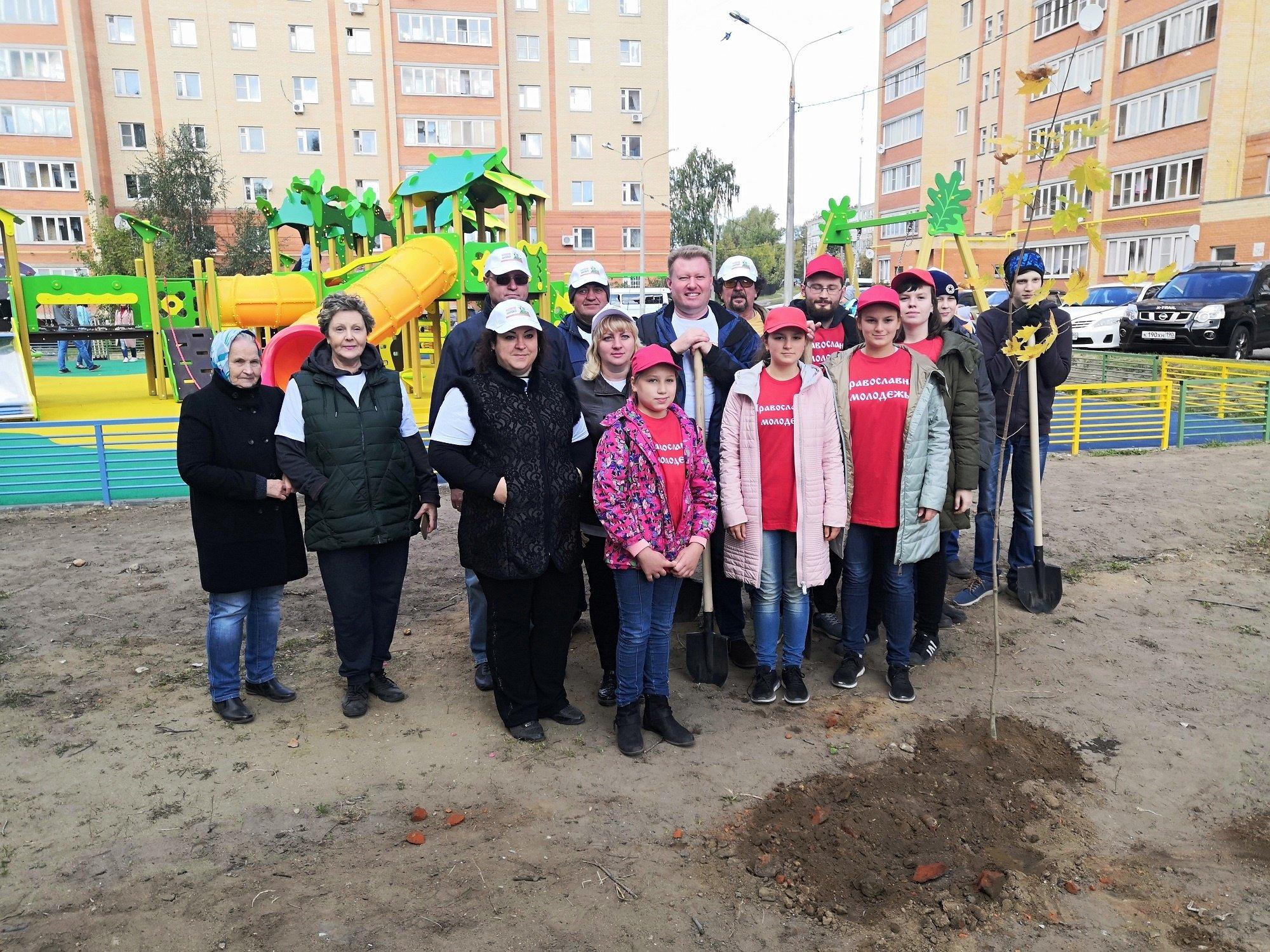 21 сентября в городском округе Егорьевск прошла акция Наш лес. Посади свое дерево, в которой принял участие ответственный за экологическую работу в Егорьевском благочинии протодиакон Дионисий Рязанов
