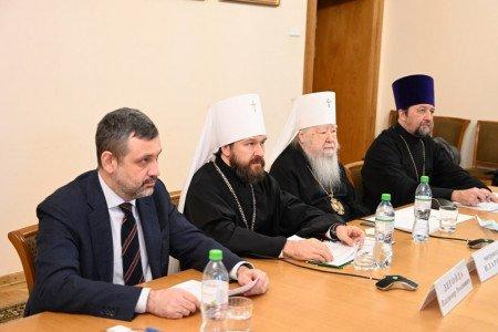 Заседание Совета по взаимодействию с религиозными объединениями при Президенте России